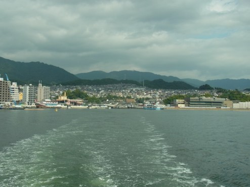 Ferry to Miyajima