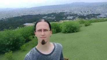Me at Nara - Mount Wakakusa