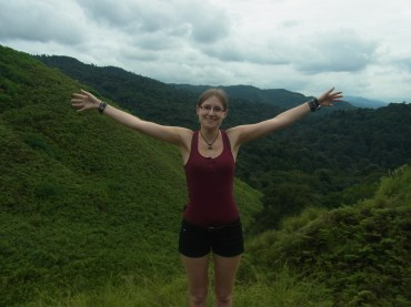 Bianca at Mount Wakakusa