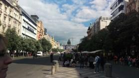 Wenzelplatz looking back