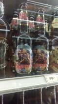 Iron Maiden branded beer