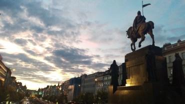 Sunset in Prague
