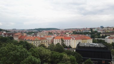 View from Nuselský bridge