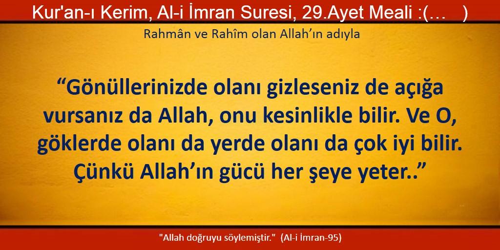 Al-i imran 29
