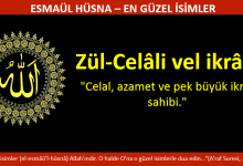 Photo of ZÜL-CELALİ VEL İKRAM