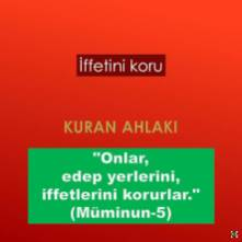İffetini koru