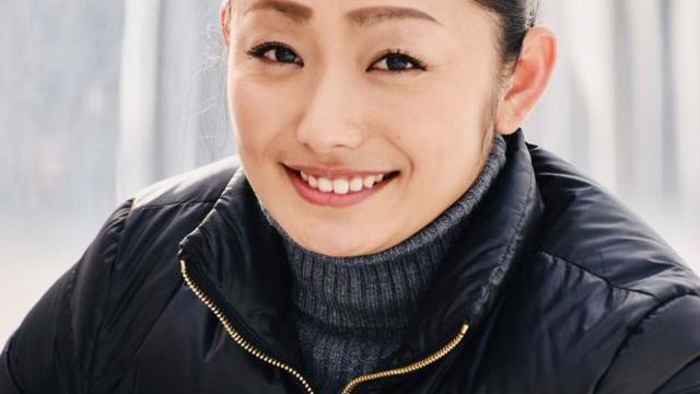 安藤美姫 笑っている