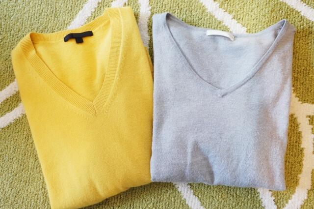 干し 方 セーター
