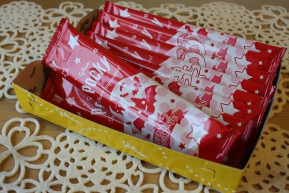 ハロウィン限定ポッキーチョコレート味
