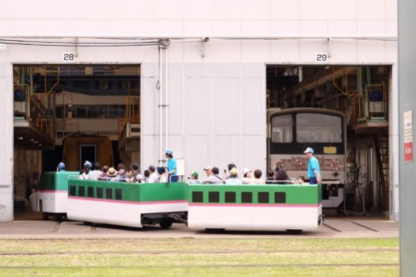 大宮車両基地イベント2015鉄道ふれあいフェアミニ新幹線