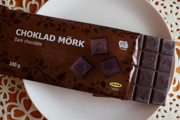 IKEAダークチョコカカオ60%