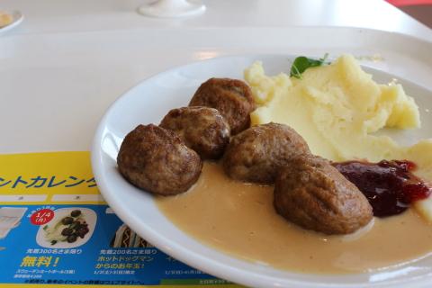 IKEAスウェーデンミートボール
