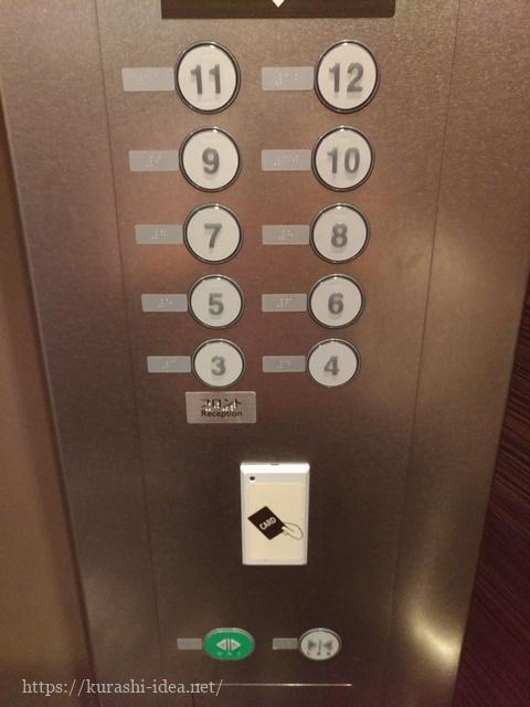 ヴィアイン心斎橋エレベーター