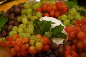 いろいろな種類の葡萄(ぶどう)の写真