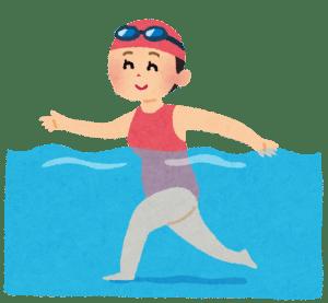水中ウォーキング