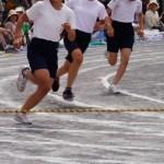 運動会の短距離走・徒競走