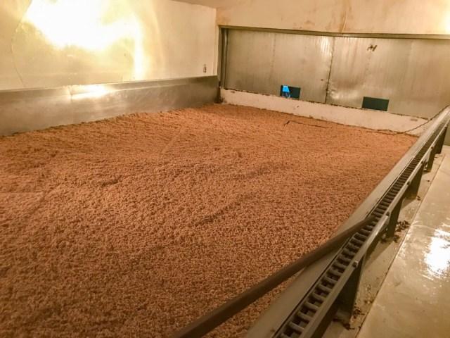 とら醤油:醸造場 製麹室