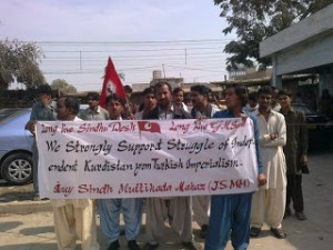 Solidarity from Sindh