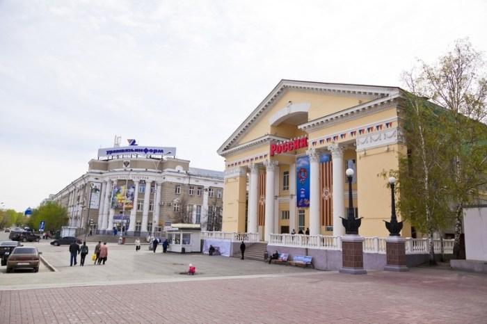 Здание кинотеатра «Россия»
