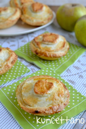 ricetta,ricette,apple pie,nigella,feast,individual apple pies