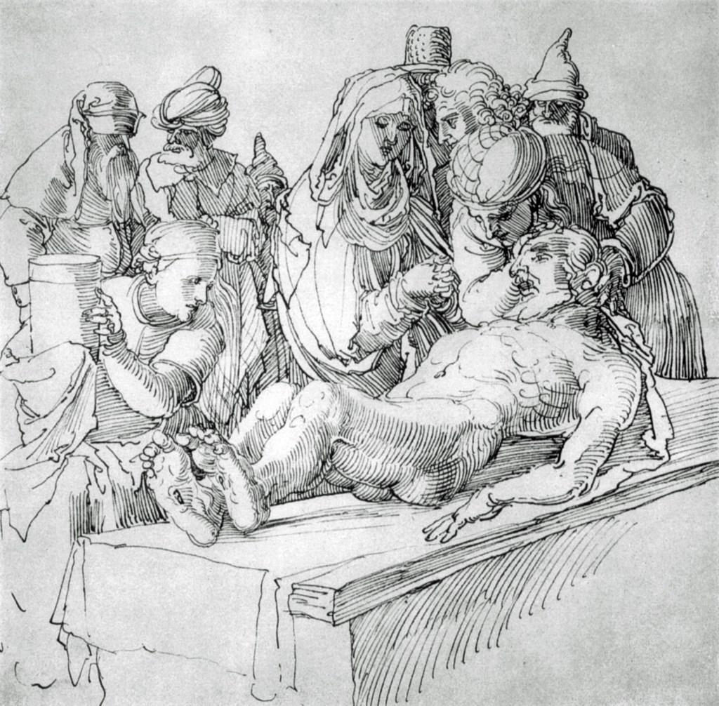 Albrecht Duerer – Złożenie do grobu.