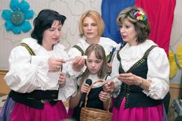 Wszystkie panie pracujące z dziećmi są śliczne i mają dobre serca Fot. Marian Paluszkiewicz