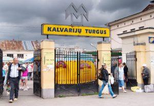 Na rynku Kalwaryjskim lada chwila wybuchnie akcja protestacyjna niezadowolonych handlarzy Fot. Marian Paluszkiewicz