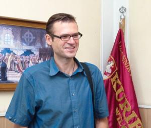 Generalny sekretarz MIDAS'u dr Günther Rautz Fot. Marian Paluszkiewicz