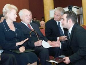 Dalia Grybauskaitė obiecuje,  że dyskusje o nieprawowicie przywłaszczonym mieniu w Wilnie zostaną podjęte już we wrześniu Fot. Marian Paluszkiewicz