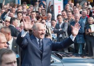 Nazywany ostatnim dyktatorem w Europie białoruski prezydent czuł się w Wilnie jak u siebie w domu Fot. Marian Paluszkiewicz
