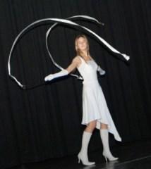 Alona Błaszkiewicz z kolegami przygotowała na konkurs pantomimę na odwieczny temat — o miłości Fot. Marian Paluszkiewicz