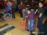 Wizyta na kregielni była prawdziwą frajdą dla niepełnosprawnych z Niemenczyna