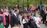 Dzień Konstytucji w Norwegii jest obchodzony całymi rodzinami