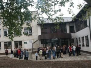 W tym roku Szkoła Średnia im. H. Sienkiewicza w Landwarowie znalazła się w pierwszej setce (71. pozycja) w rankingu wszystkich na Litwie szkół średnich i gimnazjów. Fot. Marian Pluszkiewicz