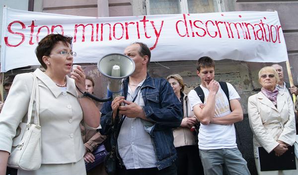 Nasilają się protesty przeciwko dyskryminacji Polaków na Litwie