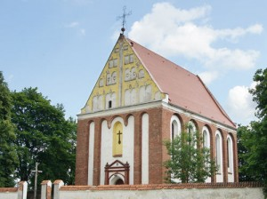 Kościół został ufundowany (1620-1622) przez Andrzeja Skorulskiego, ówczesnego właściciela majątku w Skorulach.<br/>Fot. Marian Paluszkiewicz