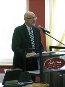 Janusz Skolimowski, ambasador Rzeczypospolitej Polskiej w Republice Litewskiej.