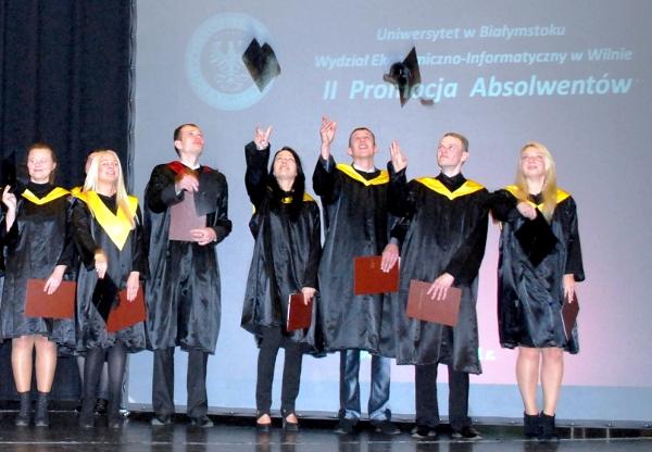 Jubileuszowa inauguracja roku akademickiego wileńskiej filii UwB