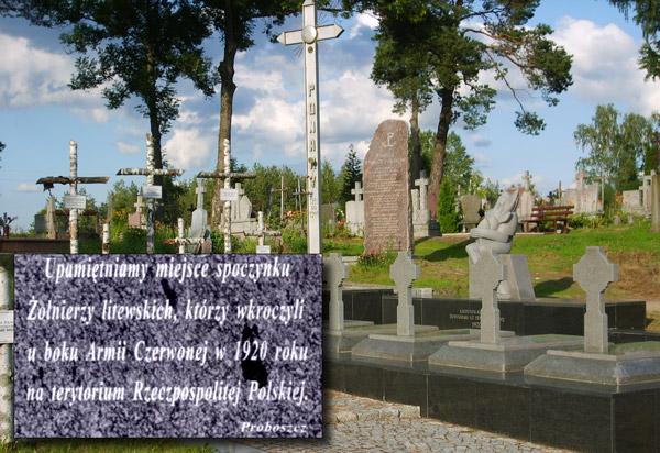 Litwini oburzeni polskimi pomnikami w Berżnikach