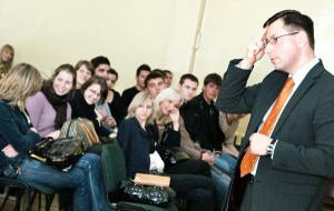 Steponavičius chcąc usprawiedliwić zachowanie swoje i rządu dopuszcza się manipulacji faktami  Fot. Marian Paluszkiewicz
