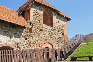 Fragment zamku Gedymina Fot. Marian Paluszkiewicz