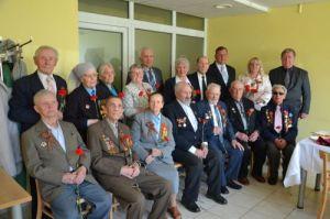 Weteranom dziękowano za ich bohaterstwo, poświęcenie i ogromny wysiłek w obronie wolności ojczyzny Fot. archiwum ASRW
