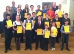 Uczestnicy XX Festiwalu Dzieci i Młodzieży Muzycznie Uzdolnionej Fot. Honorata Adamowicz