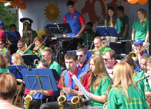 Solecznicka orkiestra gościła w Tarnowie Podgórnym