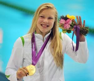 Trening sprawił, że dziewczyna mogła sięgnąć po złoty olimpijski medal Fot. ELTA