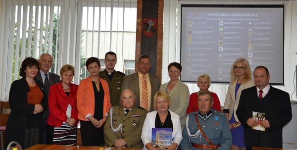 Kierownictwo Samorządu spotkało się z przedstawicielami Powiatu Kraśnickiego