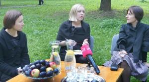 """Podczas nietypowej konferencji został zaprezentowany program obchodów 50-lecia """"Skalviji"""" Fot. Marian Paluszkiewicz"""