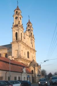 Możliwe miejsce do budowy Sanktuarium — przy Kościele Wniebowstąpienia Pańskiego i klasztorze Misjonarzy          Fot. Marian Paluszkiewicz