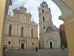 Kościół św. Janów na dziedzińcu Akademii Wileńskiej Fot. Marian Paluszkiewicz