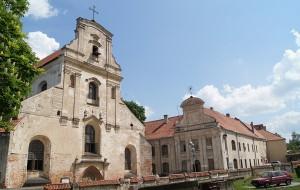Kościół i klasztor Franciszkański w Wilnie przy ulicy Trockiej  Fot. Marian Paluszkiewicz